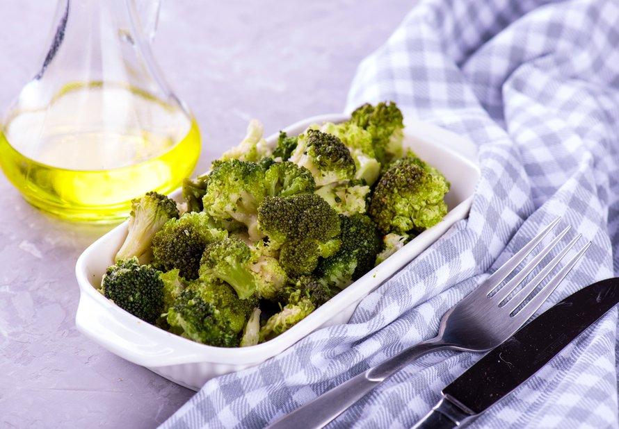 Pečená brokolice