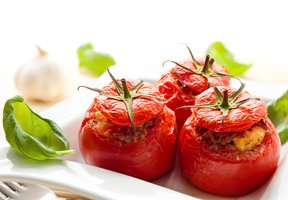 Rajčata plněná quinoou