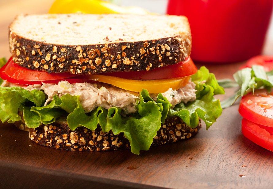 Rychlý tuňákový sendvič