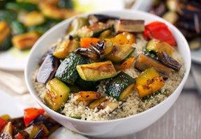Kuskus s grilovanou/pečenou zeleninou