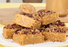 Ovesné blondies