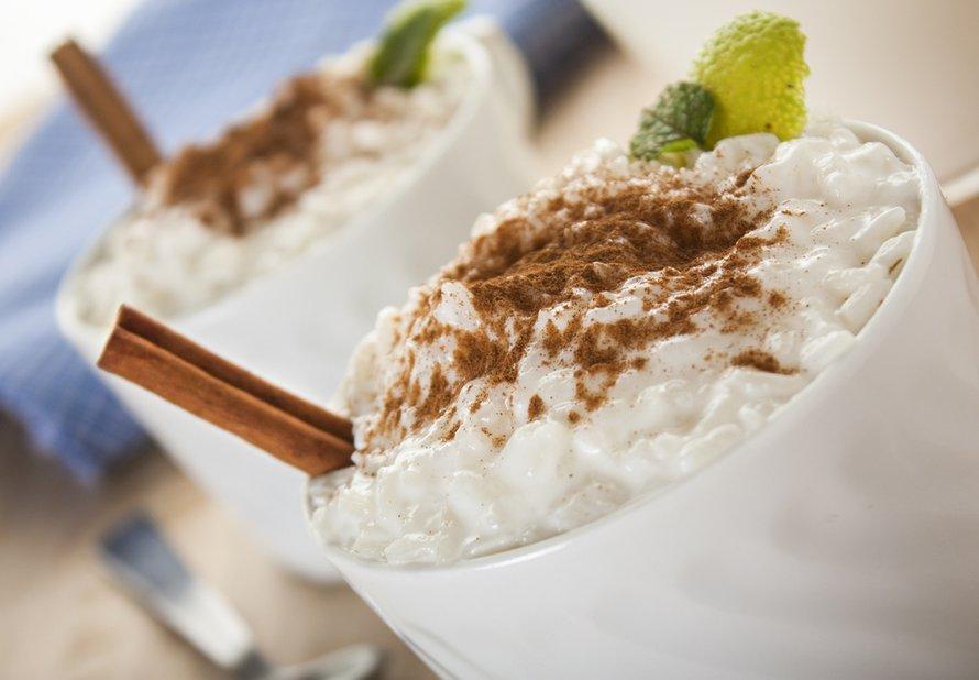 Mléčná rýže s kardamonem