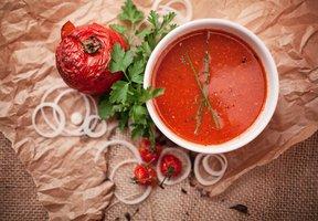 Rajská polévka se zázvorem