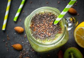 Chia zelené smoothie