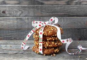 Vánoční ovesné sušenky
