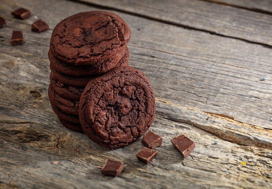 Čokoládové sušenky se skořicí