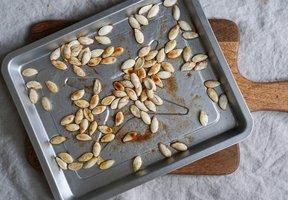Pečená dýňová semínka se skořicí