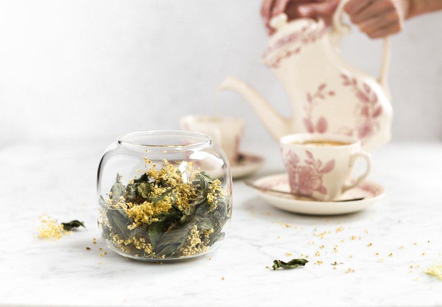 Bezovo-mátový čaj