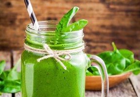 Špenátové zelené smoothie