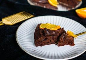 Pomerančový koláč ze špaldové mouky
