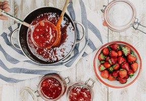 Jahodová marmeláda se stévií - základní recept