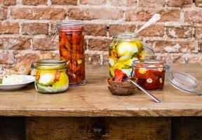 Naložené papriky