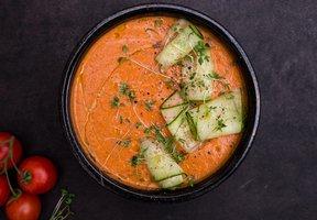 Rajčatové gazpacho