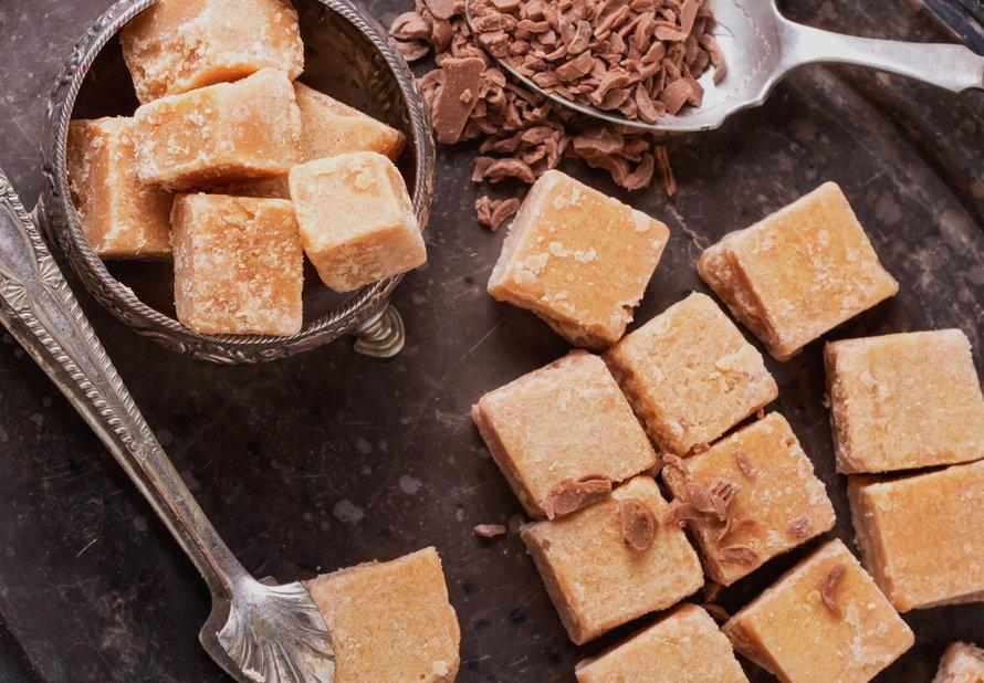 Vanilkové fudge