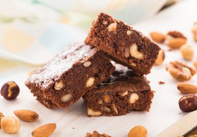 Oříškové brownies
