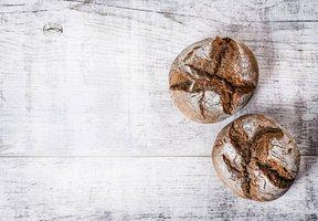 Celozrnné žitné bulky – základní recept