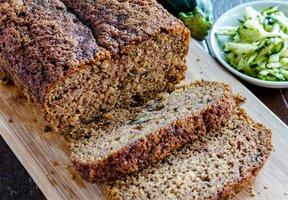 Cuketovo-ořechový chléb
