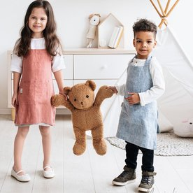 Dětská zástěra MagicLinen – růžová