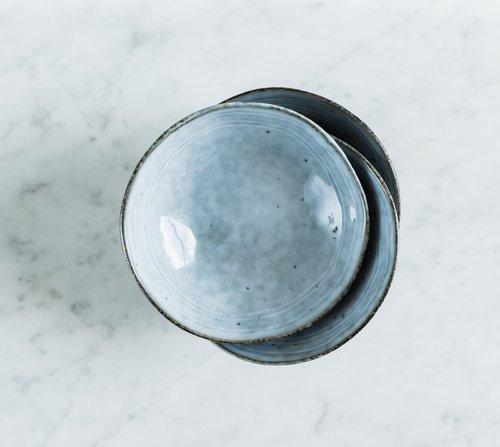 Miska střední Salt & Pepper Artisan – modrá
