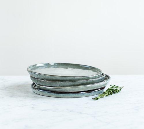 Talíř velký Salt & Pepper Artisan 26 cm – zelený