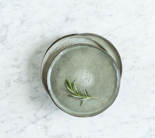 Talíř malý Salt & Pepper Artisan 20 cm – zelený