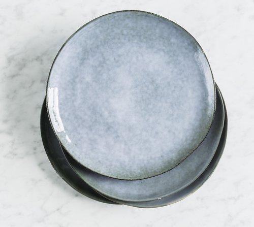 Talíř velký Salt & Pepper Artisan 26 cm – modrý