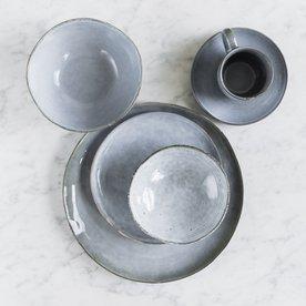 Velký servírovací set pro 1 osobu Salt & Pepper Artisan – modrá