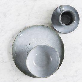 Servírovací set pro 4 osoby Salt & Pepper Artisan – modrá