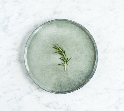 Servírovací set pro 4 osoby Salt & Pepper Artisan – zelená