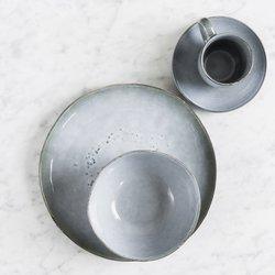 Servírovací set pro 2 osoby Salt & Pepper Artisan – modrá